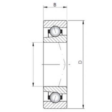 Bantalan 71822 C ISO