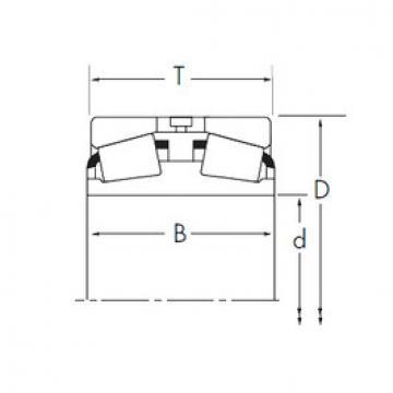 Bantalan 389DE/382A+Y2S-382A Timken